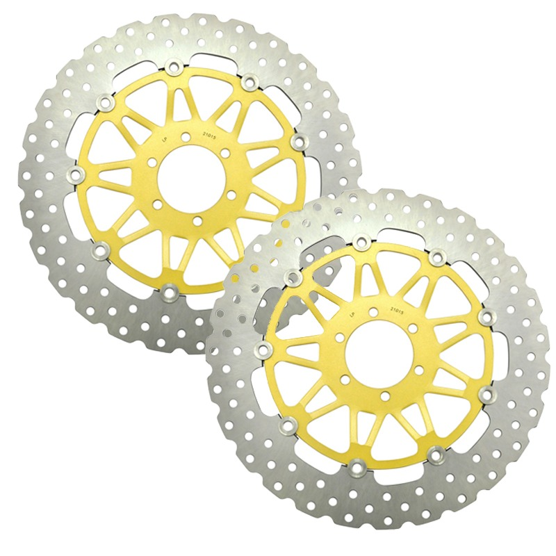 LOPOR LOPOR Motorcycle Front Brake Disc Rotor Fit For APRILIA MX125 RSV1000 Mille H827 Tuono 125 1000 SL1000 E1103 NEW for aprilia rsv 1000 mille 2004 2007 cnc aluminum front