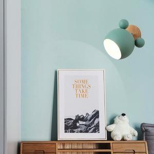 Image 3 - Настенный светильник E27 в скандинавском стиле, оригинальный креативный мультяшный настенный светильник для детей, для чтения, прикроватный светильник для спальни