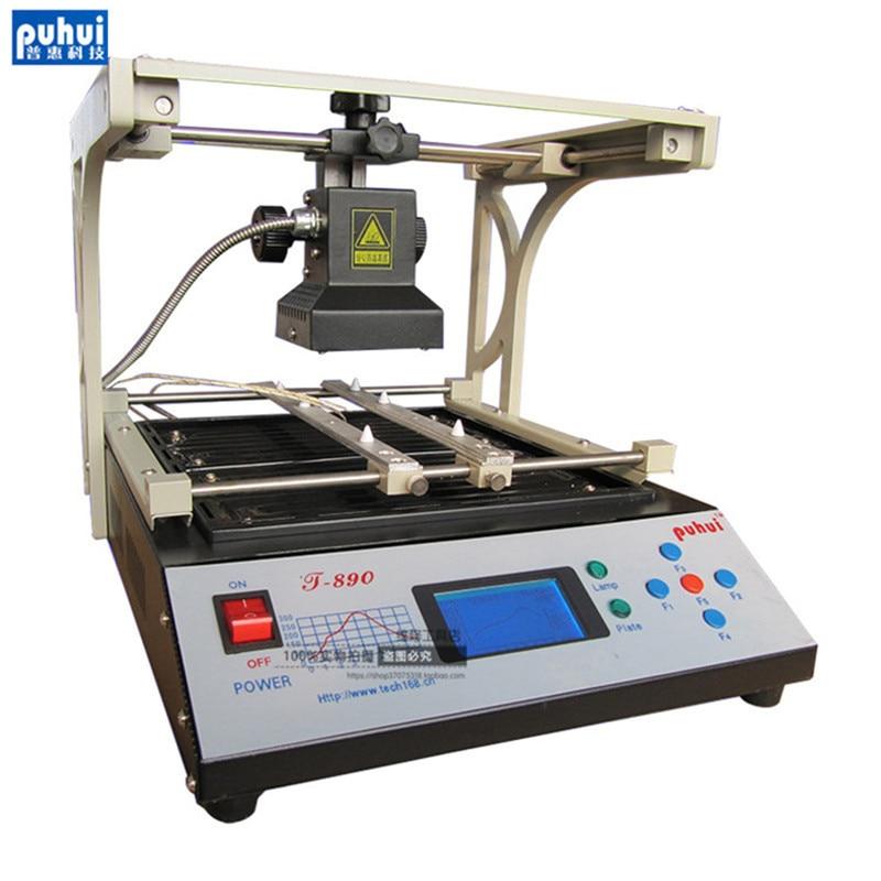 PUHUI T-890 T890 BGA Double Digital Infrared Station BGA/IRDA/IFR/SMD/SMT WELDER Basic Solder Station 220V