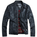 NEW Brand trade orders, fashion motorcycle jackets men, men's classic pu leather jacket coat, jaqueta de couro plus size M-5XL