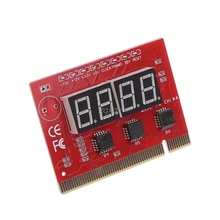 New Computer PCI POST Card Motherboard LED 4 Digit Diagnostic Test PC Analyzer Whosale&Dropship
