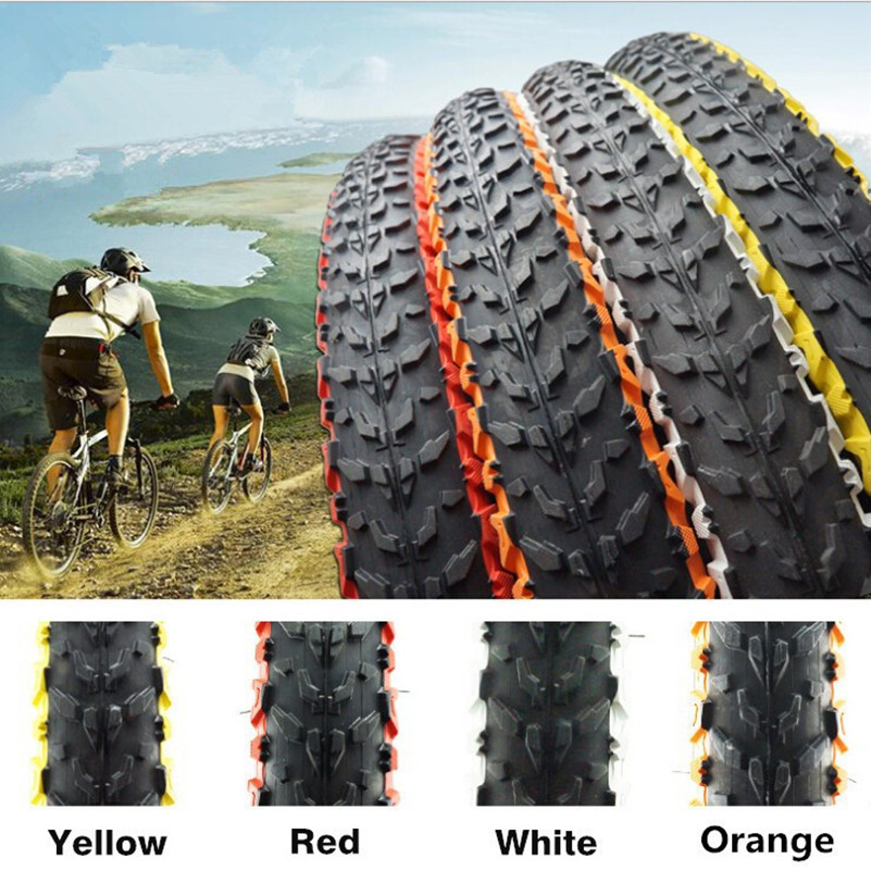 WEST BIKING Bike Color Tire H-5120 26 * 1.95 MTB Bicycle Tire 30TPI Soft Side MTB Bikes Pure Folded Bike Tyre High Speed Tires цена 2017
