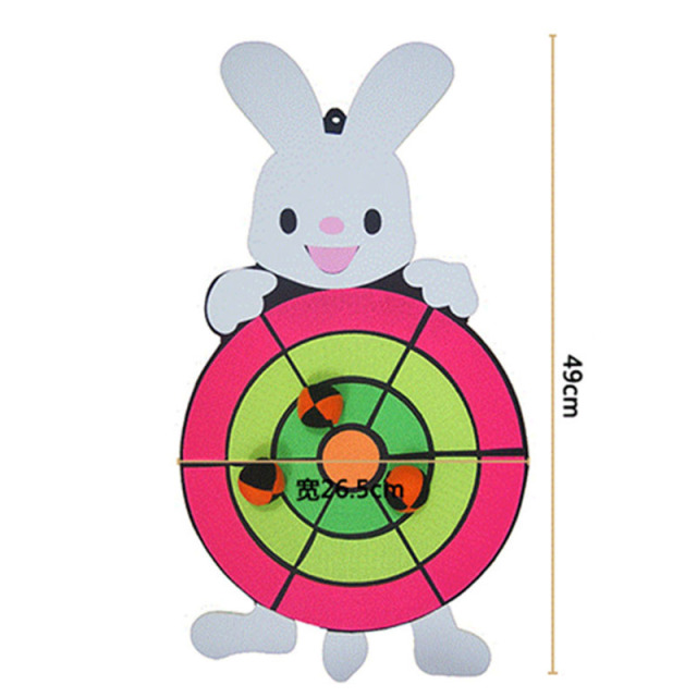 Children Cartoon Darts Boards Sticky Ball Target Board Set Childrens Birthday Gift Halloween Christmas Gifts