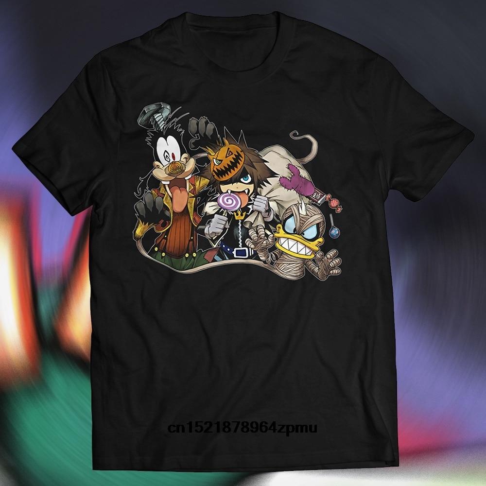 PLstar Cosmos Mode t shirt Kingdom Hearts Collage T Shirt Sora Axel ...