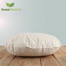Round Thicken seat cushion insert floor tatami mat car sofa bed back cushion inner lumbar pillow goose down feather Cushion Core