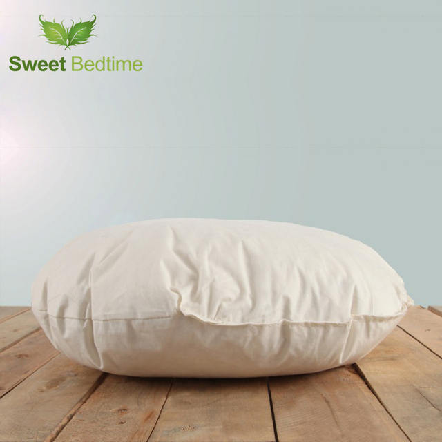 Round Thicken Seat Cushion Insert Floor Tatami Mat Car Sofa Bed Back Inner Lumbar Pillow Goose Down Feather Core