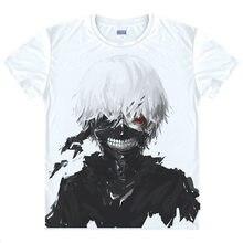 Ken Kaneki Camiseta Camisa de los hombres 3D Camisetas estampadas Haise Sasaki Anime Tees lindo Encantador de Manga Corta Para Hombre T-Shirts camisas de anime un