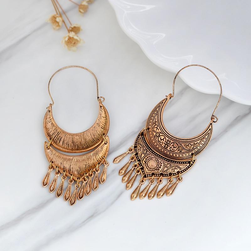 QIHE ΚΟΣΜΗΜΑΤΑ Αρχαία ασημένια χρυσά - Κοσμήματα μόδας - Φωτογραφία 6