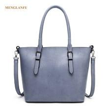 Women's Soft Leather Handbags High-capacity Famale Shoulder Bag Vintage Crossbody Bags Designer Casual Bucket Bag For Women