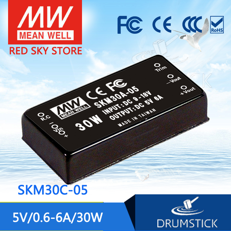 цена на MEAN WELL SKM30C-05 5V 6A meanwell SKM30 5V 30W DC-DC Regulated Single Output Converter