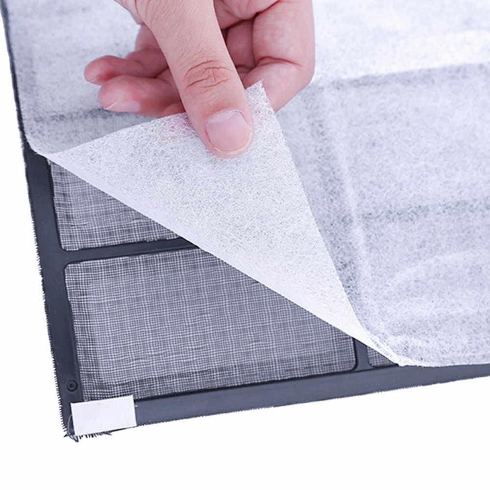 2pcs Dustproof Paper Dust Control Air Filter Home PET 2 Sheet Air Cleaning Filter Household PM 2.5 Air Conditioning Filter Hotel