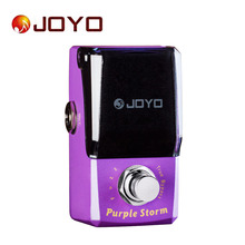 Joyo IRONMAN JF-320 Lila Mini Elektrische Gitarre Effektpedal Box Zubehör mit Knopf Schutz True Bypass