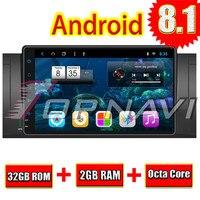 Topnavi Android 8.1 Auto Multimedia for BMW E39 2003 2004 2005 2006 2007 2008 2009 2010 2011 2012 Car PC Navigation Radio Player