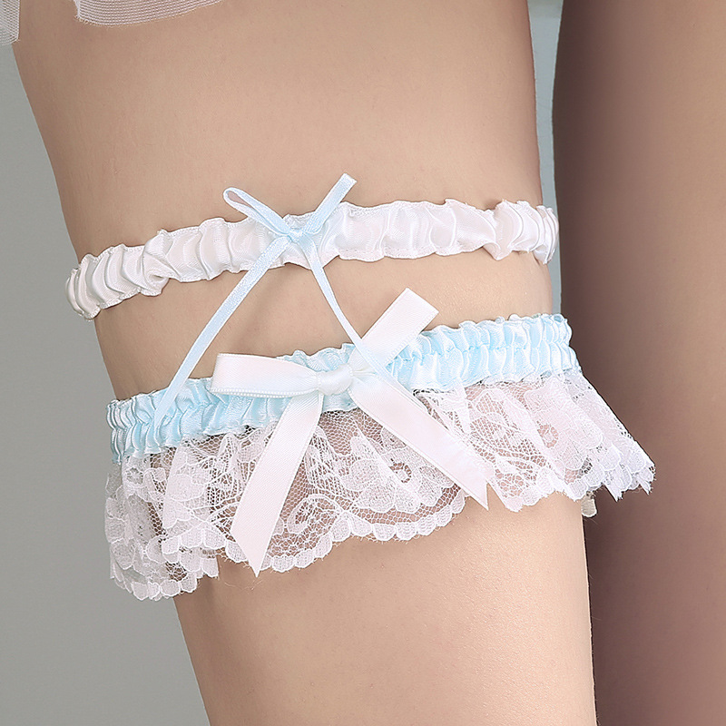What Is A Garter At A Wedding: Bridal's Wedding Garters Elegant Party Bride Favors