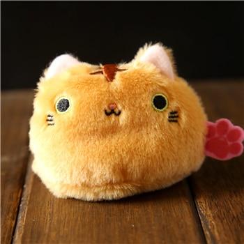6pcs/lot Lovely Japana Cats Plush Toys Staffed Soft Mini Plush Animal Decoration Dolls Girls Kid Cute Plush Gift