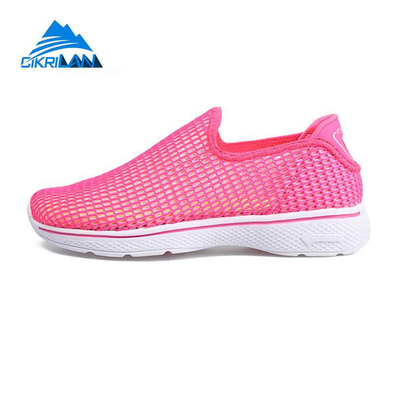 658a25ad852bc0 Womens Summer Breathable Outdoor Trekking Hiking Water Shoes Women Camping Sports  Slip On Aqua Shoes Woman Beach Surfing Sandals