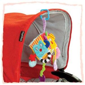 Image 3 - Bébé Mobile bébé jouet en peluche bloc embrayage Cube magique hochets début nouveau né bébé jouets éducatifs 0 24mois