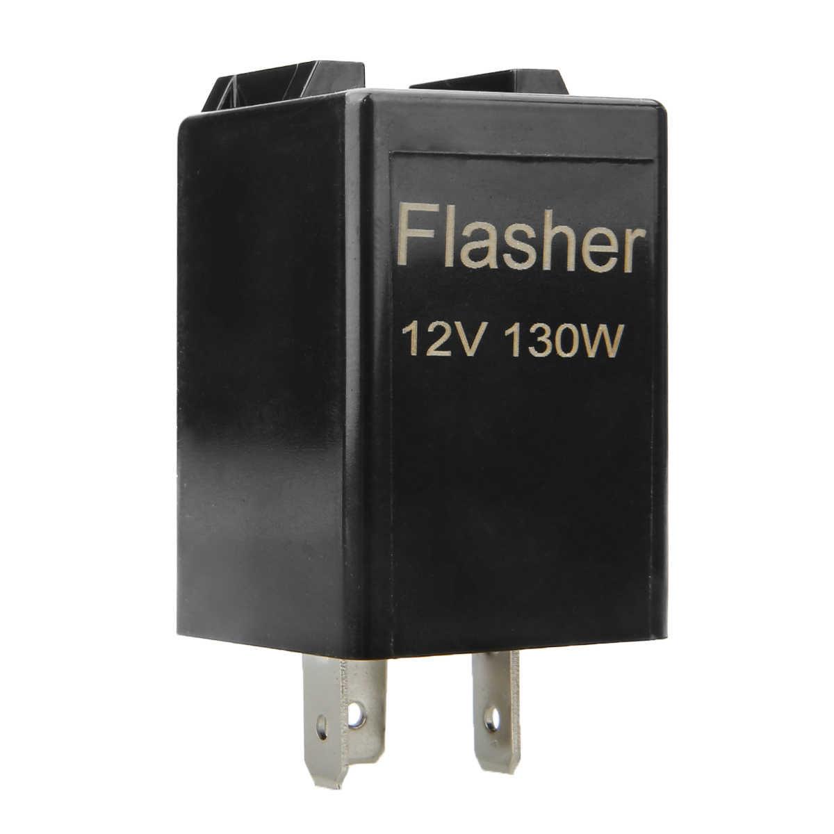 12 В CF13 3 Pin Flasher реле Universial Blink Flasher реле стробоскоп для автомобиля мотоцикла светодиодный указатель поворота