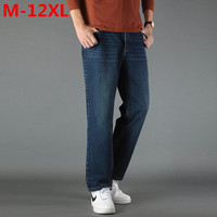 2017 NEW Mens Big And Tall High Stretch Plus Size 12XL 11XL 10XL 9XL 8XL Jeans