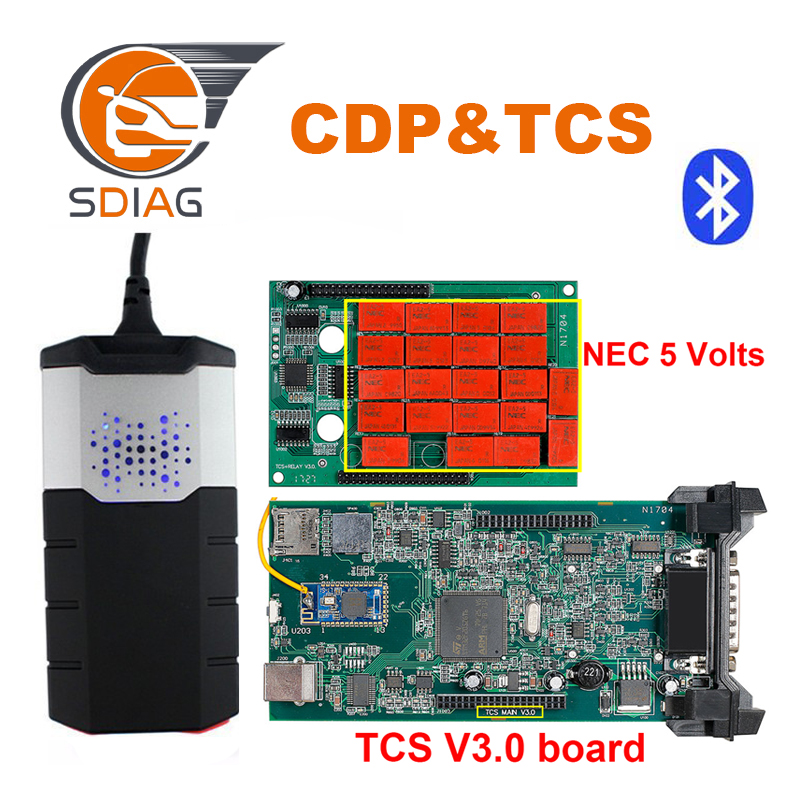 Diagnostic Tools Back To Search Resultsautomobiles & Motorcycles 2019 New Software 2016.00 R0 Keygen /2015.3 Vd Ds-150 Cdp Tcs Cdp Pro Plus V3.0 With Bluetooth For Delphis Car Truck Obd2 Scan Cheap Sales 50%