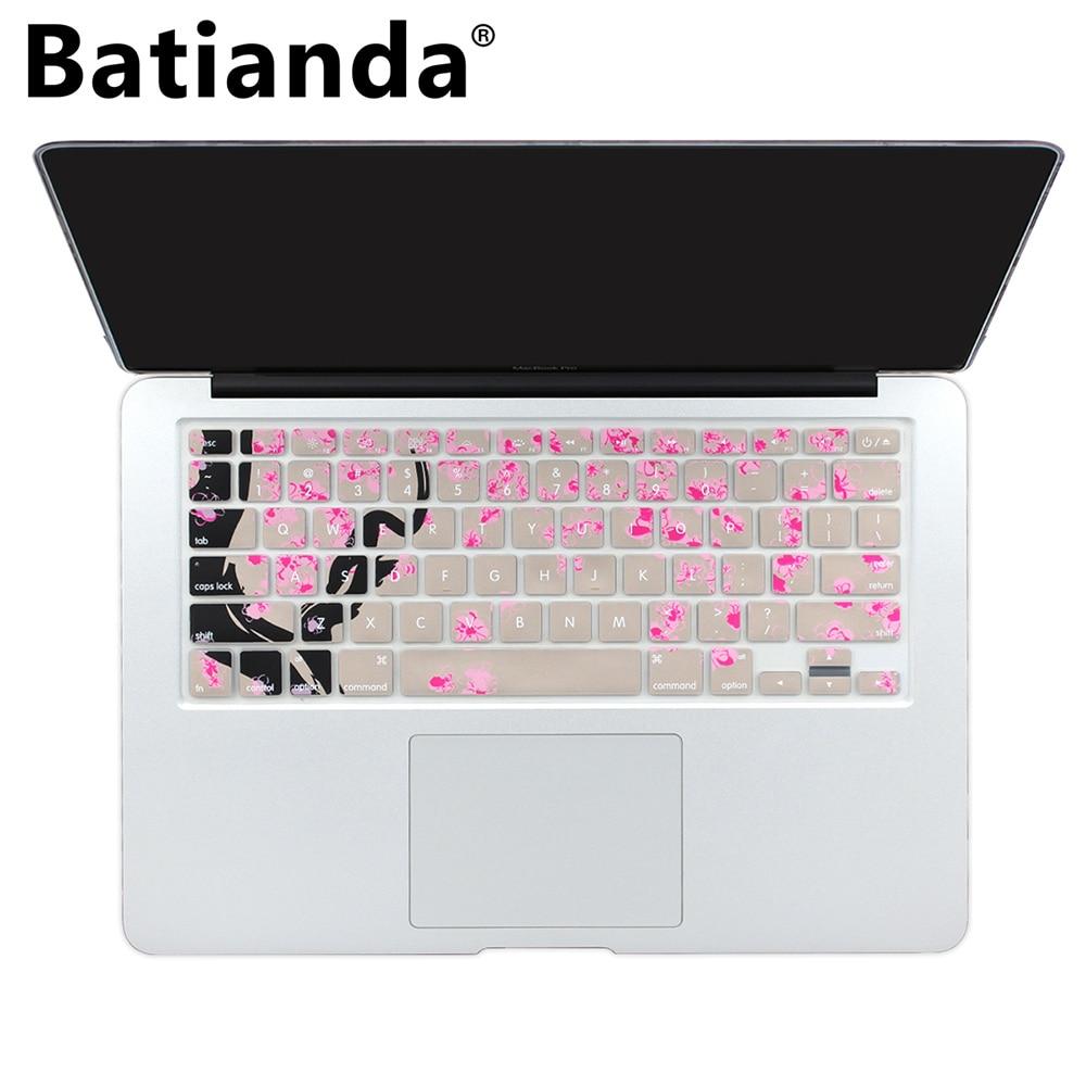 Cherry Pattern Keyboard Cover voor Macbook Old Pro Retina 13 15 17 - Notebook accessoires - Foto 1