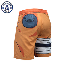 Great Naruto 3D quick drying Beach Shorts / Bermuda Shorts