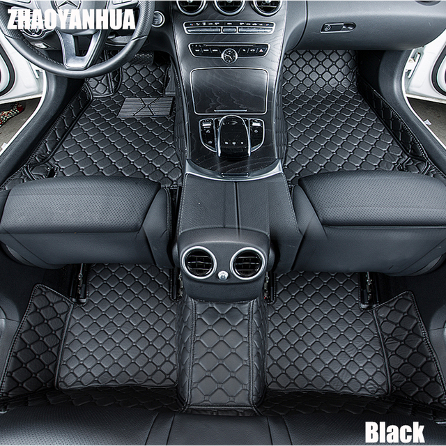Custom Fit Car Floor Mats For HONDA ODYSSEY VEZEL FIT CITY CROSSTOUR JADE  CRIDER SPIRIOR CIVIC