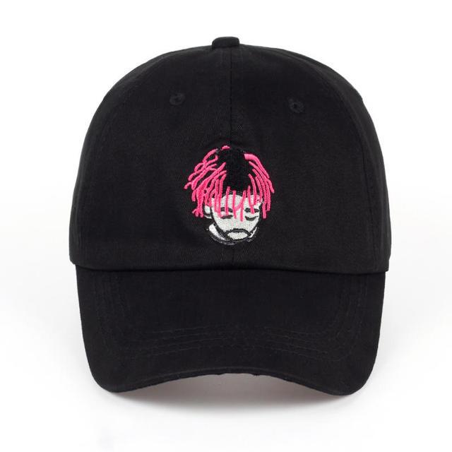VORON new Embroidery LIL UZI VERT Dad Hat Fashion The Rapper Baseball Cap  Hip Hop Women Men Black Adjustable Trucker Bones 67c1badbb23