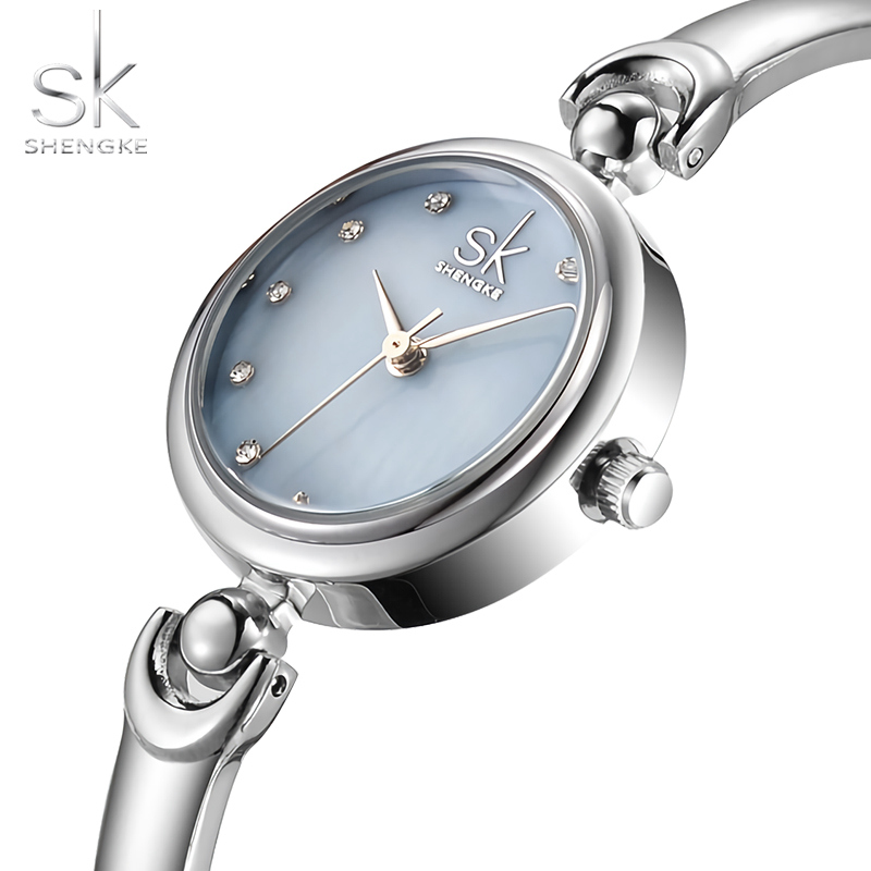 Sk Luxury Brand Quartz Watch Women rectangle Stainless steel band female clock Bracelet Lady Casual Wristwatch gift 2017 New top new fashion brand women lady luxury clock female stylish casual business elegant steel wrist quartz bracelet watch re024