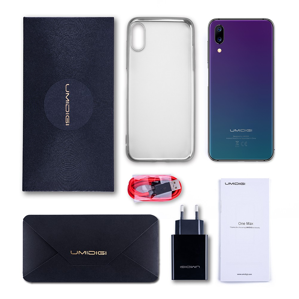 """Image 5 - UMIDIGI One Max Global Version 4GB 128GB 6.3"""" Waterdrop Full Screen 4150mAh Dual SIM Face ID Smartphone NFC Wireless Charging-in Cellphones from Cellphones & Telecommunications"""