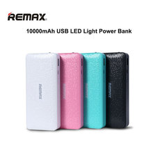REMAX 10000mAh 1 USB Extended Battery Backup Power Bank Supply Universal for IPhone LED Light Portable External PowerBank