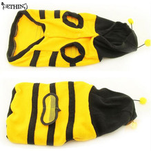 Cute cat clothes bee styles with lovely wing different size fit (XS-XXL)