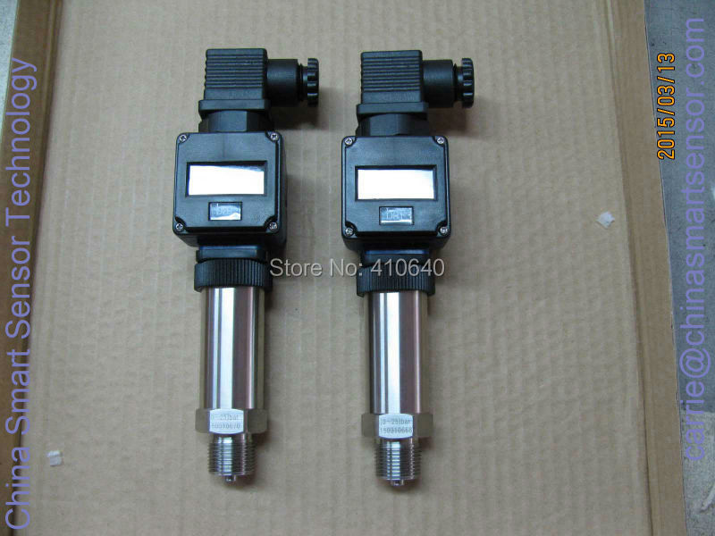 Давление передатчик 4 20mA с Дисплей 25 бар G1/2 внешних Давление Порты и разъёмы