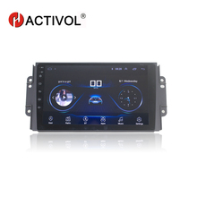HACTIVOL 9 1024*600 Quadcore android 8.1 car radio for 2016 Chery Tiggo 3 3X tiggo 2 DVD player gps navi Wifi bluetooth,SWC