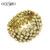 Qualidade superior trecho Pulseira de Ouro pulseiras pulseiras pulseiras de ouro pulseira femme moda acessórios jóias brt-f76