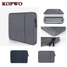 KOPWO Portable Laptop Liner Bag Black Gray Notebook Liner Sleeve Case Bag for Apple Macbook Air Pro Retina 13.3 Inch Ultra Light
