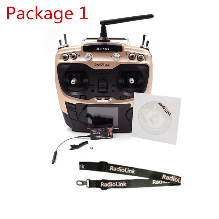 NEW Radiolink AT9S 2.4GHz 9 Channel Transmitter Radio & Receiver For RC Hobby Helicopter RC Boat  RC Car  цена