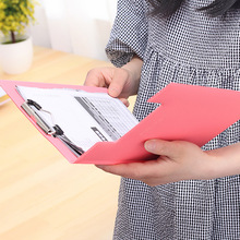 Korean Stationery Cute Animal Cutout Stainless Stell Hard Clip Boards Folder Clipboards A5 Letter Size File Organizer 9006