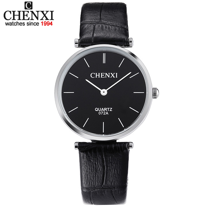 Hot Sale Simple Casual Dress Watch For Man&Women Leather Strap Lovers Couple Wristwatch Top Luxury Brand Quartz Wrist Watches