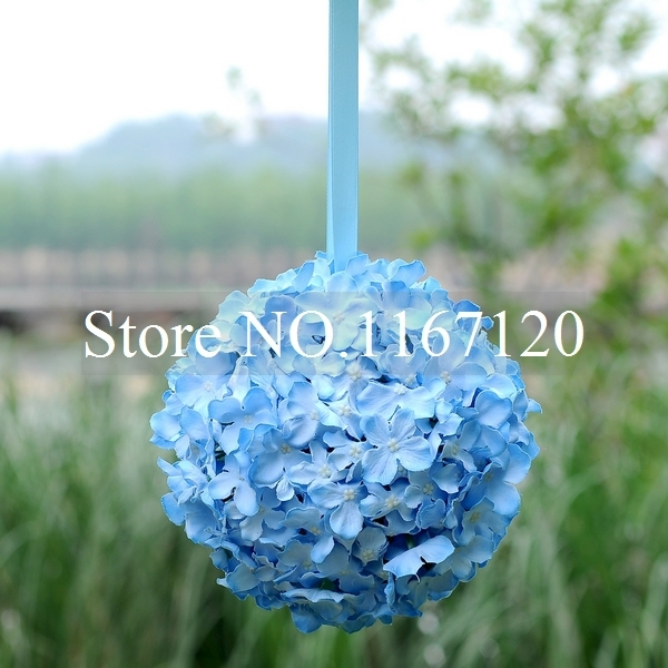 Free shipping4pcslot new style 9 blue artificial silk hydrangea free shipping4pcslot new style 9 blue artificial silk hydrangea flower mightylinksfo
