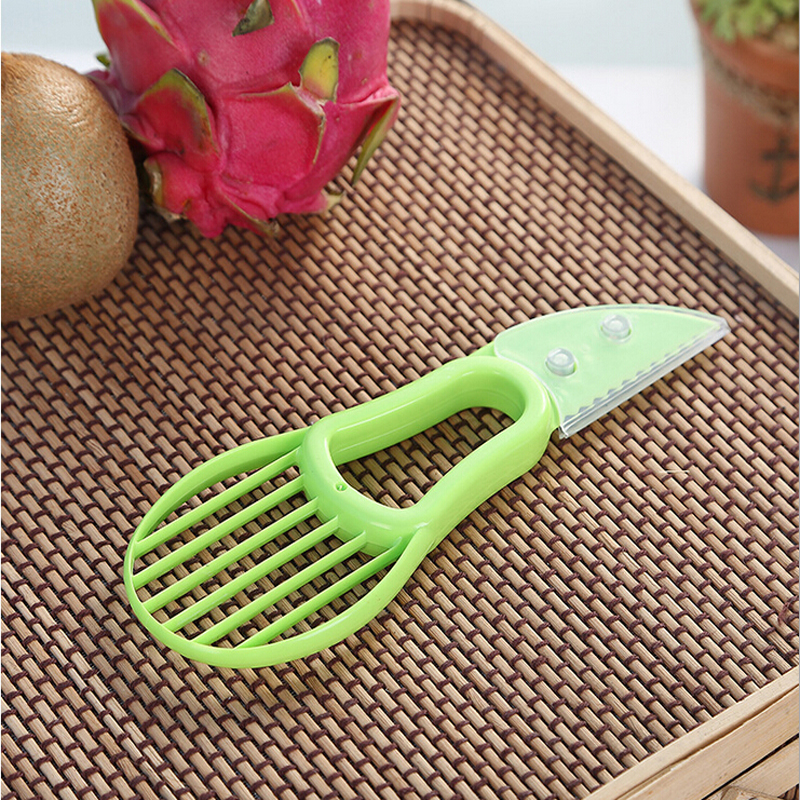 household goods kitchen gadgets multi-functional green fruit cut Kiwi potato pitaya fruit device peeler kitchen accessories