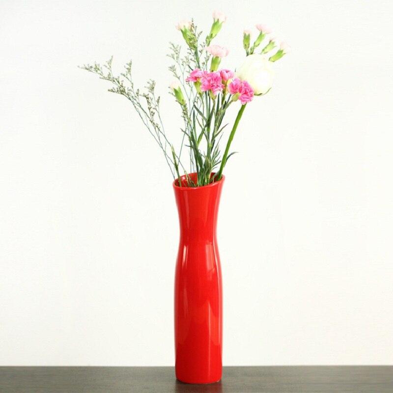 Creative ceramic vase vase wooden frame Taobao selling modern and simple European Home Decoration