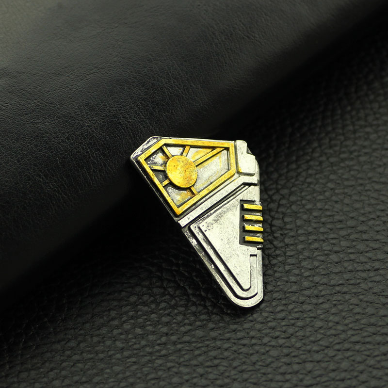 Brooch Jewelry Badge-Pins Quill Guardians Peter Galaxy Lord The Cosplay of Men for 2-Star