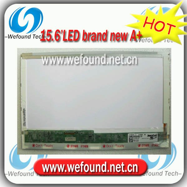 ФОТО Hot sell brand new A+ LTN156AT05 LTN156AT02 B156XW02 LP156WH2 N156B6-L02 for 15.6 inch LED laptop screen