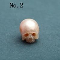 skull pearl skull carved freshwater pearl 9 11mm handmade carved pearl