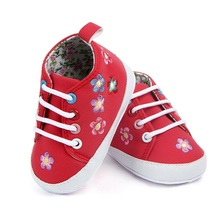 Baby Toddler pu leather Shoes Newborn Princess Shoes Baby Sh
