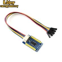 MCP23017 IO Плата расширения, интерфейс 2c, расширение 16 I/O контактов прерывания Контакты: INTA, INTB встроенный переводчик напряжения