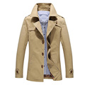 Free Shipping New Men's Stylish Single Breasted Long Trench Coat Men Overcoat Spring Long Jacket For Men Plus Size M-5XL 85z