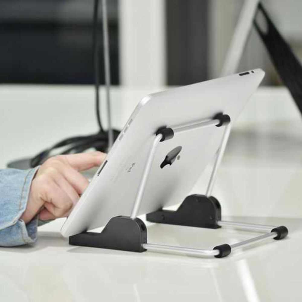 Adjustable Tablet Stand, Multi-Angle Rotatable Aluminum tablet Desktop Holder for iPad