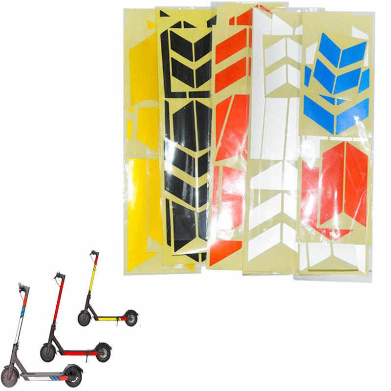 Hohe Qualität Reflektierende Styling Aufkleber Für Xiaomi Mijia M365 Elektrische Roller Skateboard Zubehör